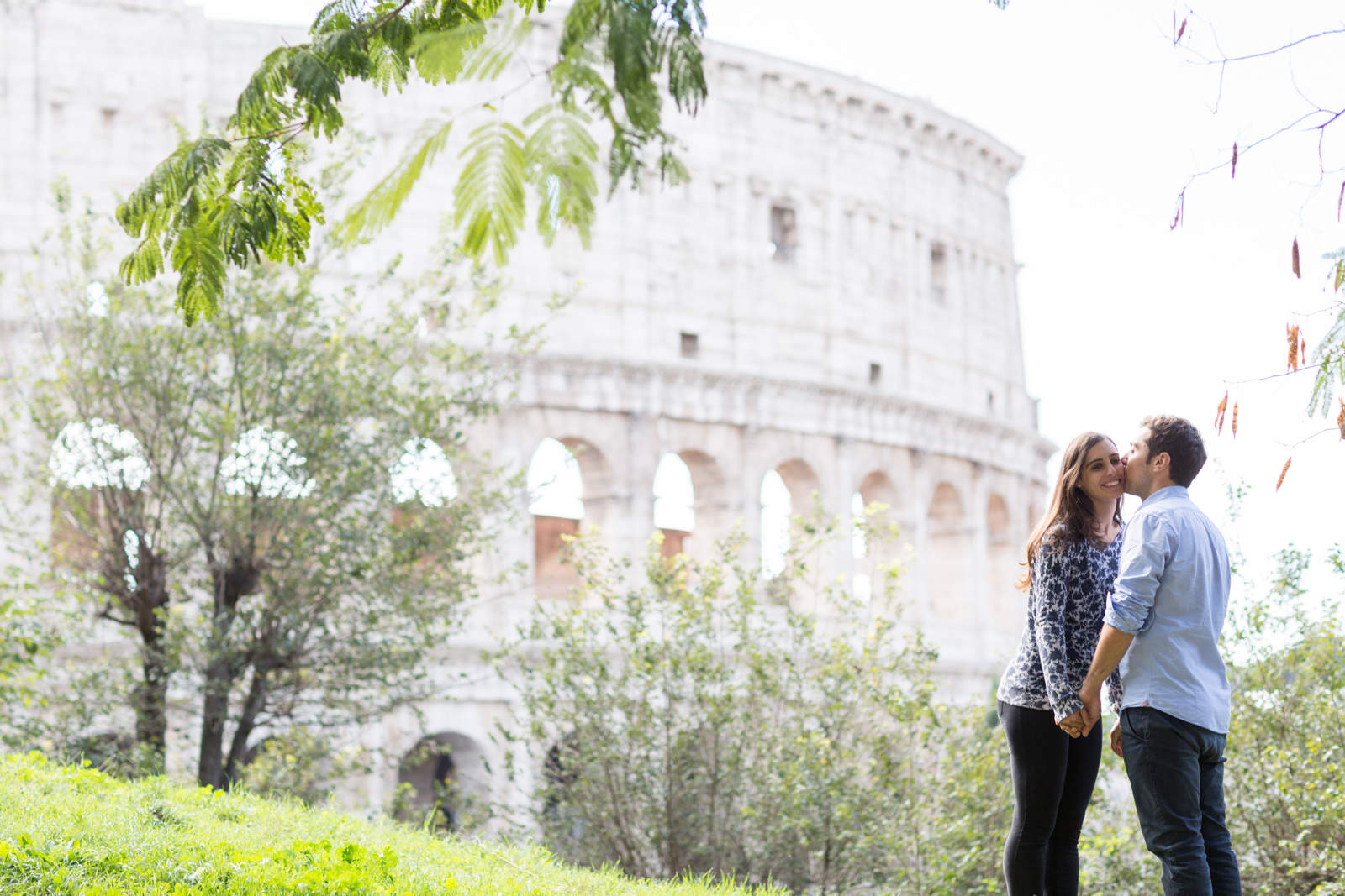 48 1 - Engagement session in Rome